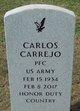 Profile photo: PFC Carlos Carrejo