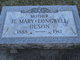 Hannah Mary <I>Longwell</I> Olson