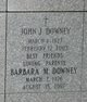 Profile photo:  Barbara Marilyn <I>Johns</I> Downey