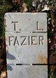 Profile photo:  T. L. Fazier