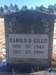 Harold D Gillis