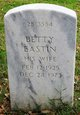 "Elizabeth Louine ""Betty"" <I>Eastin</I> Hendrick"