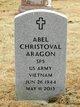 Profile photo:  Abel Christoval Aragon