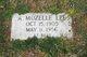 Profile photo:  A. Mozelle Lee