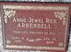 Profile photo:  Annie Jewel <I>Rice</I> Arrendell