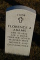 Florence A <I>Roehrich</I> Adams