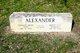 """Standley Dean """"Scott"""" Alexander"""
