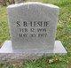 Sparrell Bevins Leslie II