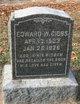 Profile photo:  Edward W. Gibbs