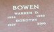 Profile photo:  Warren David Bowen