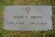 Mary Latané <I>Sugg</I> Smith