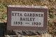 Etta Catherine <I>Gardner</I> Bailey