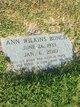 Profile photo:  Ann <I>Wilkins</I> Bunch