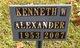 Kenneth W. Alexander