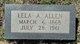 Lela Ann <I>Dillard</I> Allen