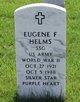 Eugene F Helms