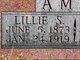 Lillie S <I>Smith</I> Amos