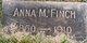 Anna M Finch