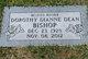 Profile photo:  Dorothy Dianne <I>Dean</I> Bishop