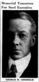 Profile photo:  George Herbert Chisholm