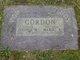 """Lucinda Melissa """"Lulu"""" <I>Stone</I> Gordon"""