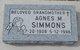 Agnes Simmons