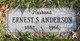 Profile photo:  Ernest S Anderson