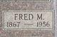 Profile photo:  Fred M Blanchard