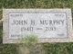 "John H ""Jack"" Murphy"