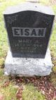 Mrs Mary A <I>Webber</I> Eisan