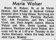 Profile photo:  Marie Hallie <I>Walser</I> Angell