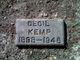 Cecil Kemp