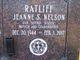 Jeanne Sylvan <I>Nelson</I> Ratliff