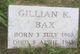 Gillian Bax
