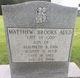 Profile photo:  Matthew Brooks Auld