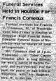 Profile photo:  Francis Ulysses Comeaux