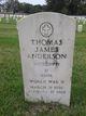 Profile photo:  Thomas James Anderson
