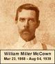 William Miller McCown