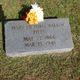 Mary Victoria <I>Walker</I> Pitts