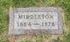 "Profile photo:  Middleton Daniel ""Mid"" Wolf"