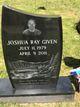 Joshua Ray Given