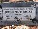"""Julius W """"Chubbs"""" Thomas"""