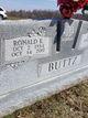 "Ronald Eugene ""Ronnie"" Buttz"