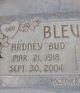 """Profile photo:  Ardney """"Bud"""" Blevins"""