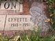 "Profile photo:  Lynett Florence ""Bebe"" <I>Barrick</I> Johnston"