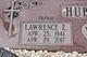 "Lawrence Edward ""Hawk"" Hubbard"