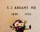 Profile photo: Dr Corydon J. Abrams