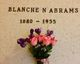 Profile photo:  Blanche N. <I>Ellis</I> Abrams