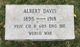 PVT Albert Davis