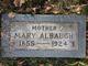 Profile photo:  Mary Albaugh